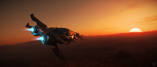 Star Citizen: Razor over Hurston