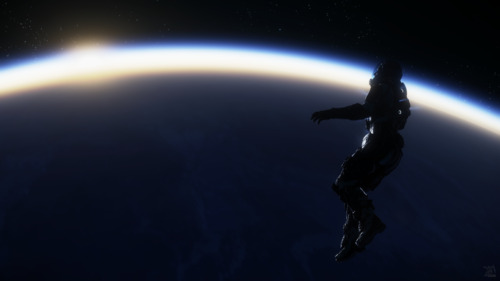 Star Citizen: Spacewalk Sunset