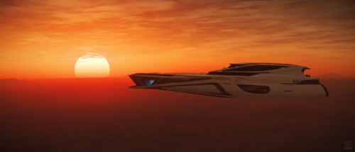 Star Citizen: Sunset Over Hurston