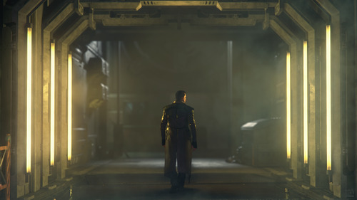 Star Citizen: Corridor Lights