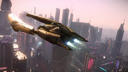 Star Citizen: Defender over Area17