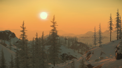 Star Citizen: Wintry Morning