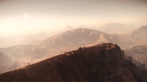 Star Citizen: Backpacking Across Daymar