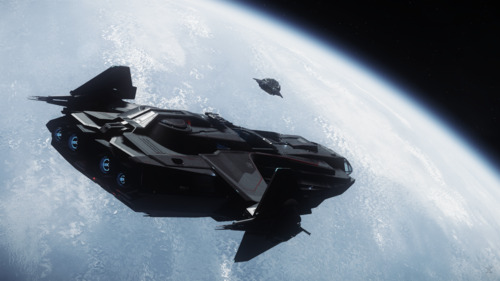 Star Citizen: Carrack Launching a Pisces