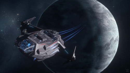 Star Citizen: Carrack Leaving Wala