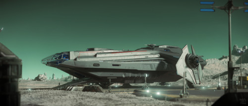 Star Citizen: Carrack on Magda