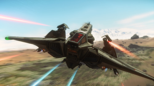 Star Citizen: Low Flying Hawk